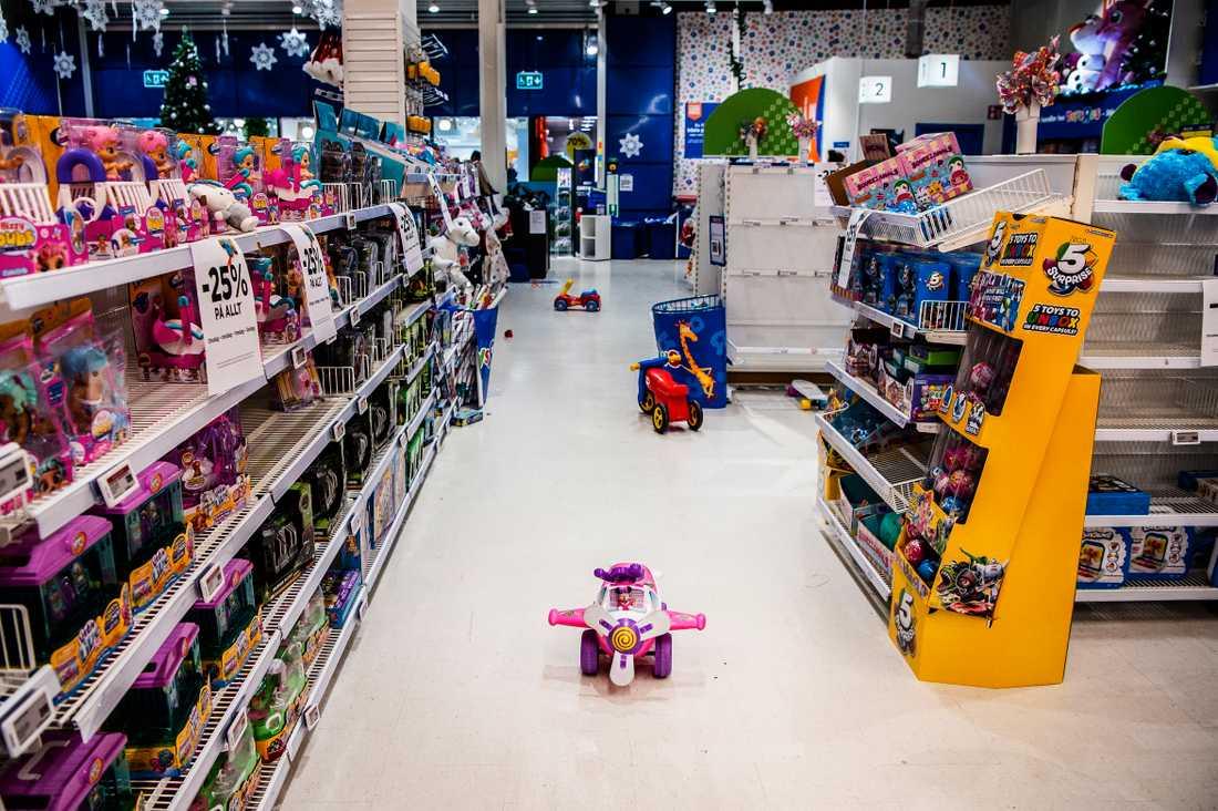 Toys R Us i Mall of Scandinavia.