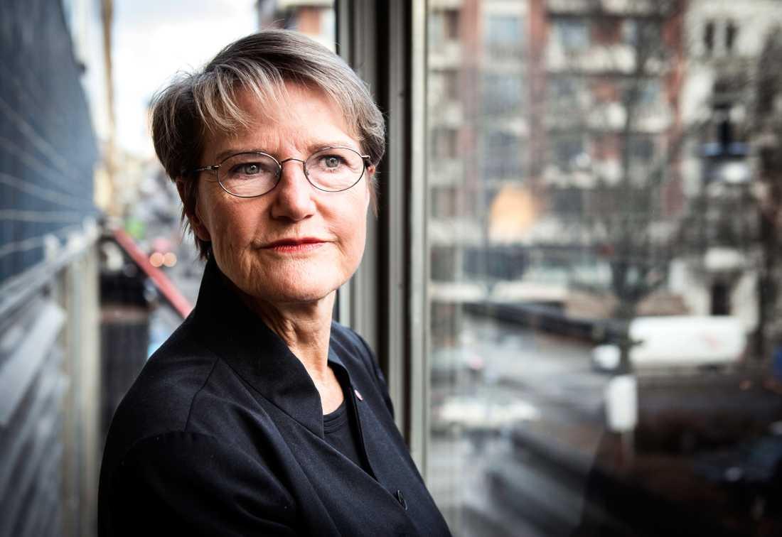 Framtidsminister Kristina Persson (S).