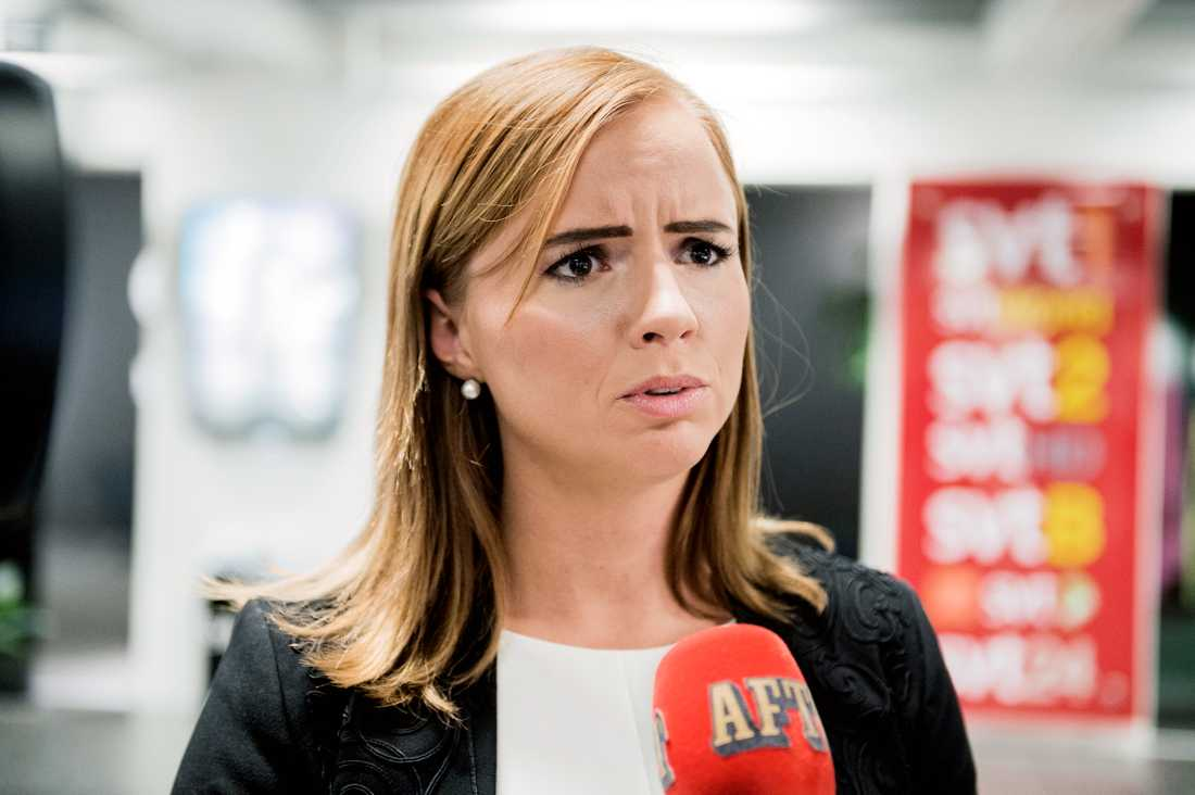 Sara Skyttedal, kommunalråd i Linköping för Kristdemokraterna.