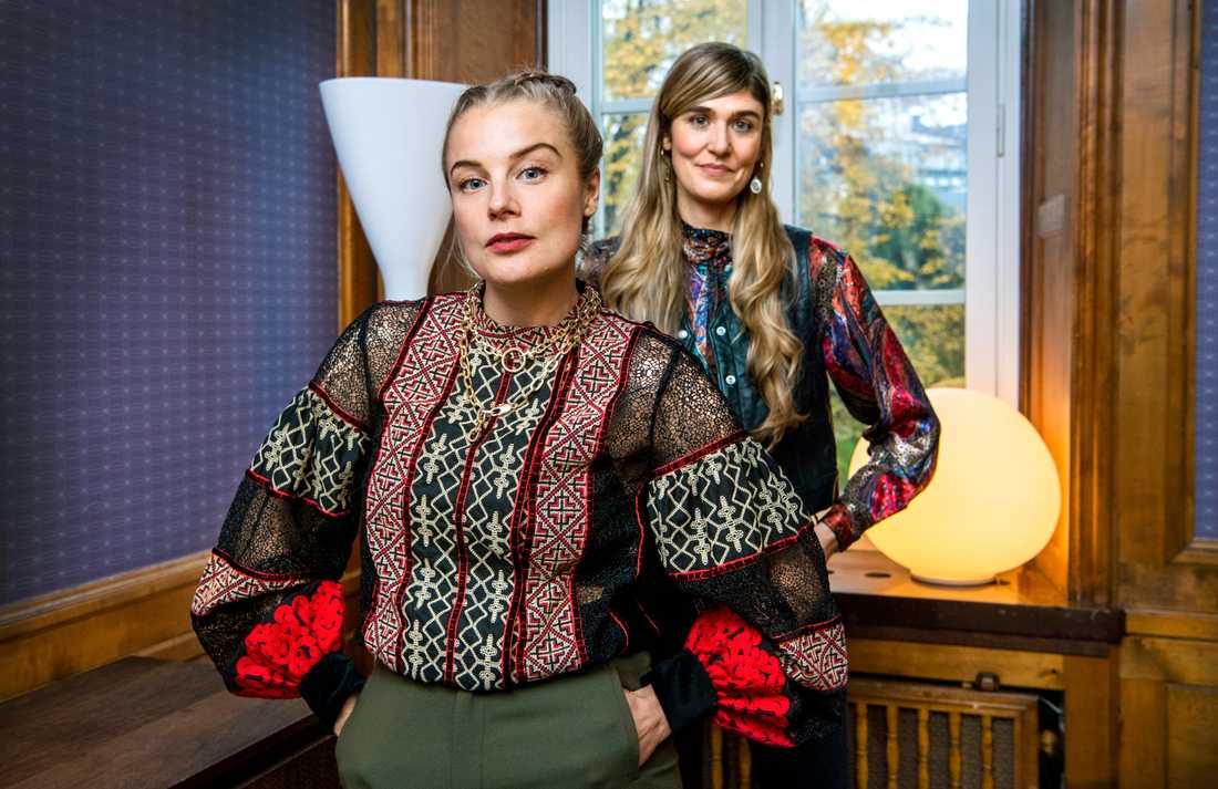 """Ida Engvoll spelar framtidskonsulten Sofie i den nya Netflix-serien """"Kärlek och anarki"""". Lisa Langseth står för regi."""