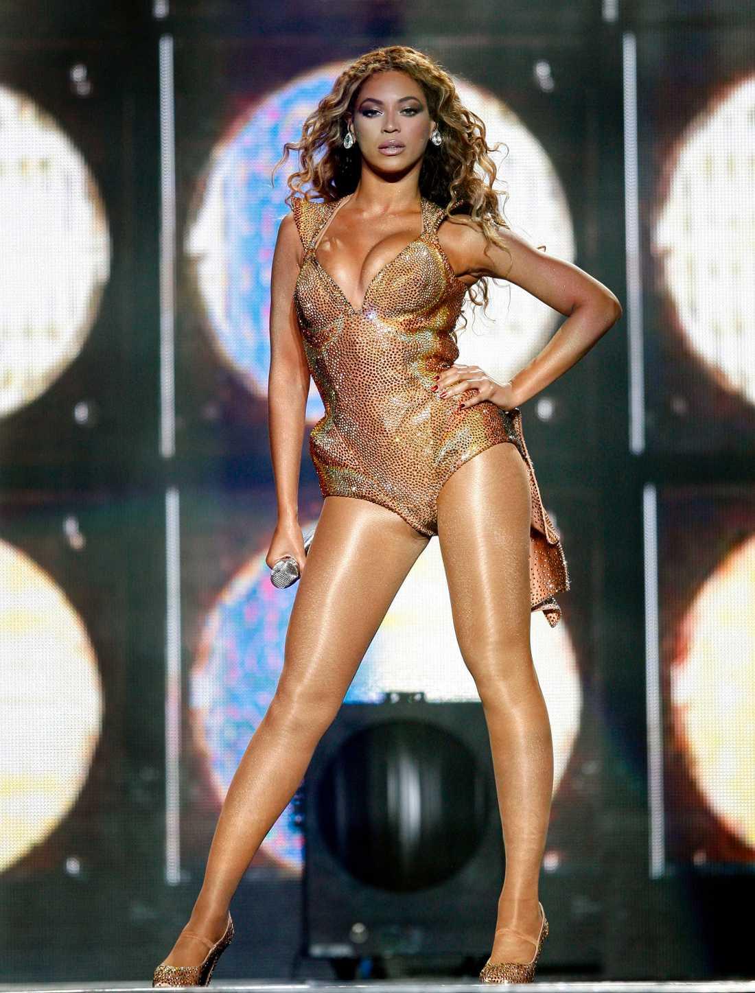 Beyoncé i en skapelse av Chris March.
