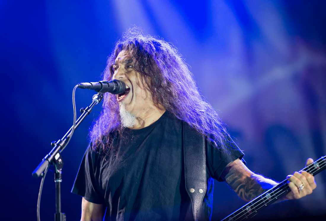 Tom Araya från Slayer.