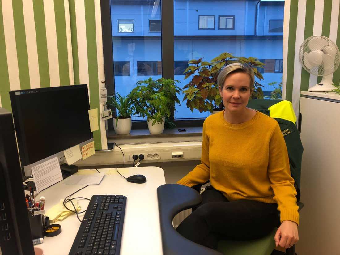 Sandra Önnheim är projektledare.