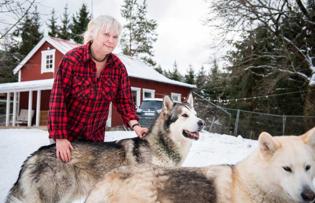 Ewa Christine Pettersson, 69,  ville ta ett banklån för att renovera sitt kök men nekades.