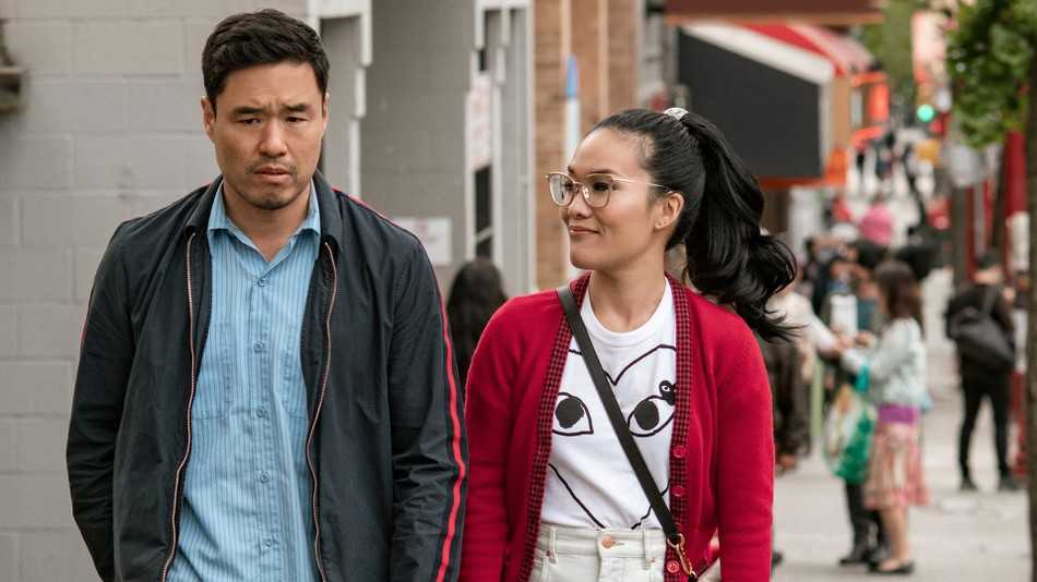 "Randall Park och Ali Wong i ""Always be my maybe""."