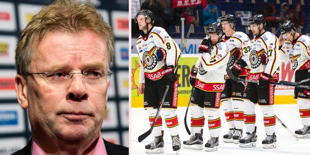 """Lars Bergström hade hoppats på mer av inledningen: """"Klart vi inte är nöjda""""."""