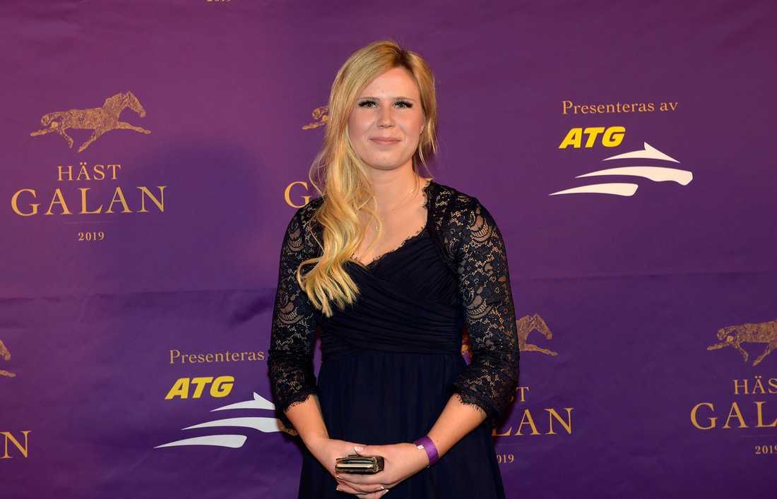 Emilia Leo prisades som årets komet på Hästgalan i fjol