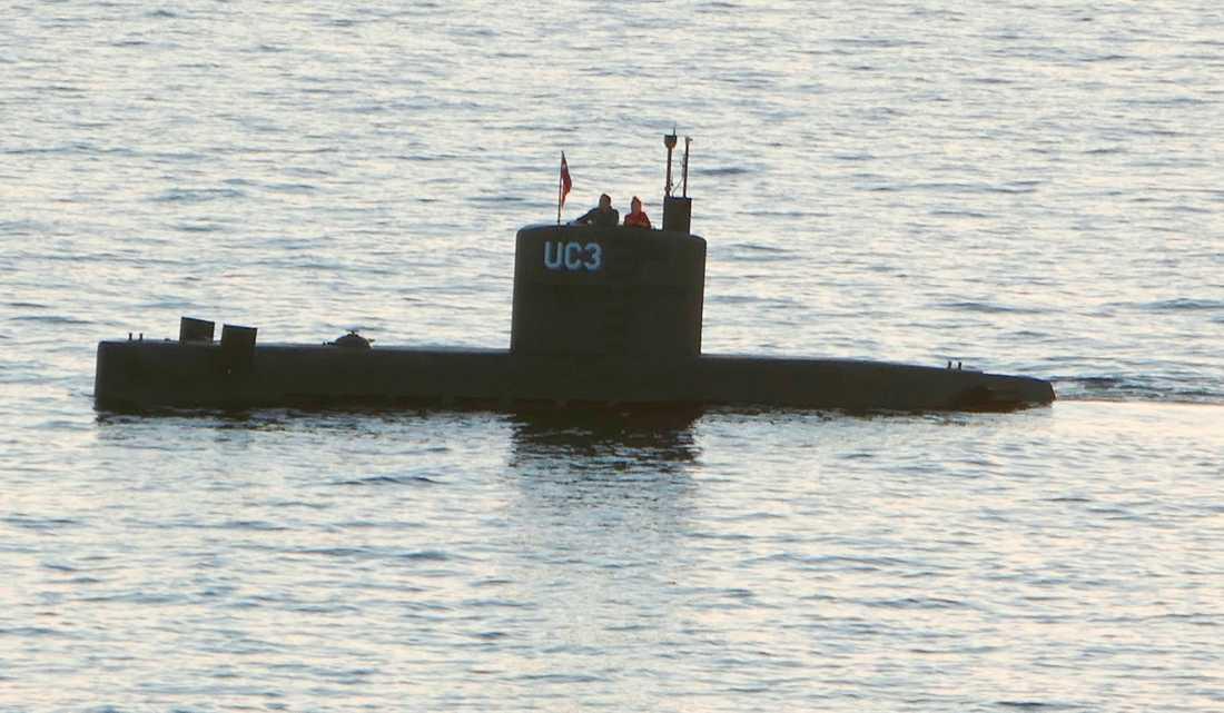 Nautilus i Öresund.