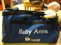 Baby Anne, testdocka.