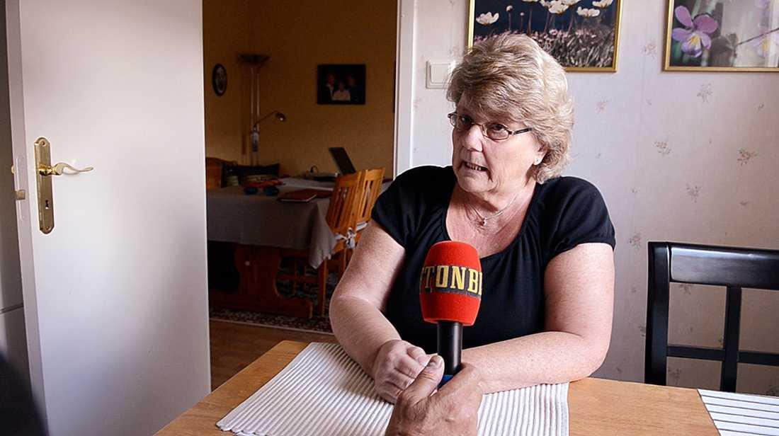 """""""Ola Lundin hade ingen kontroll på sin patient"""", säger Sigrid Östlund-Borchert, förvaltare till en av läkarens patienter."""