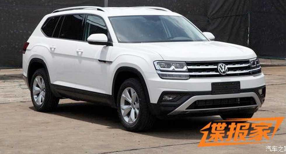 """Så här ser Volkswagens nya storsuv ut. Enligt kinesiska medier ska den få namnet """"Teramont"""""""