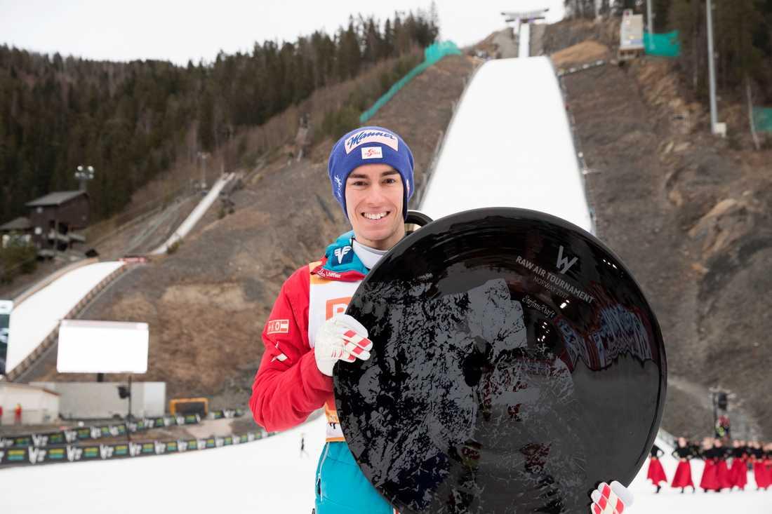 Stefan Kraft slog till med rekord.