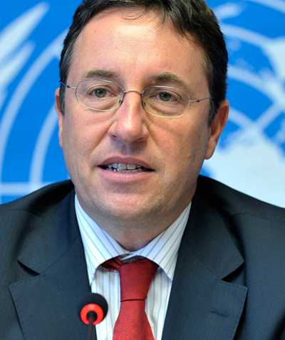 Achim Steiner, chef vid FN:s miljöprogram.
