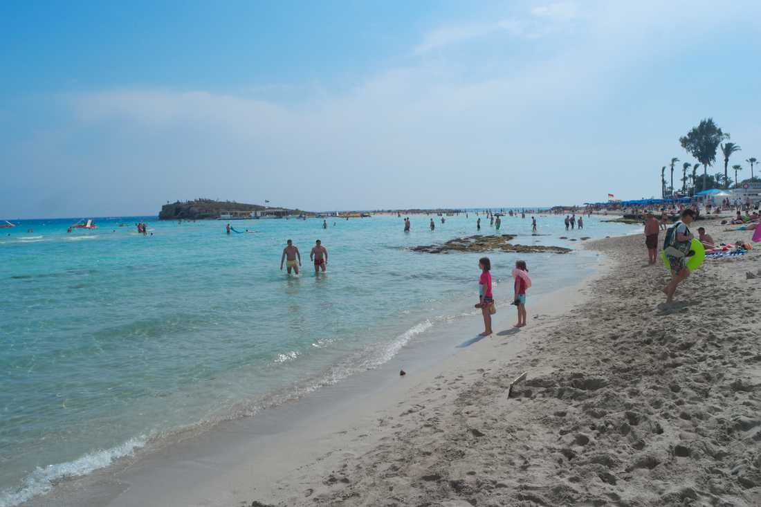 Svenskar stängs ute när Cypern öppnar för turister i juni. Arkivbild.