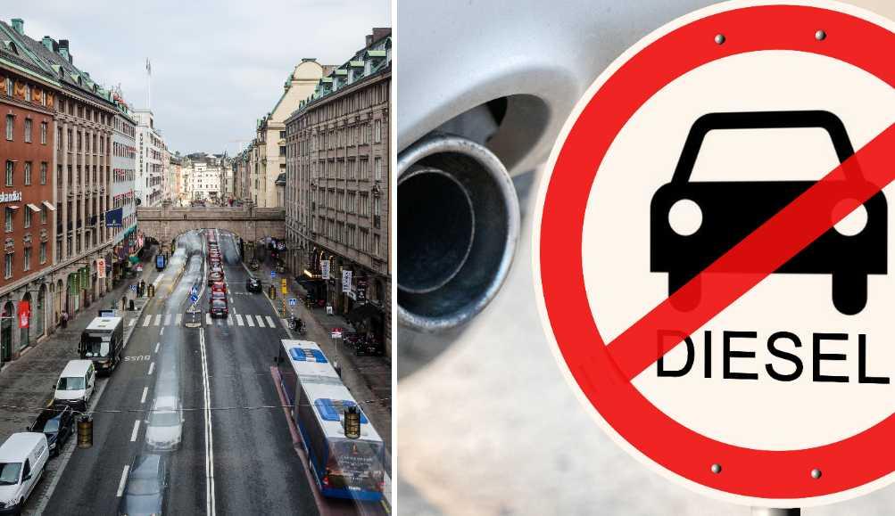 14af54f644a7 Här förbjuds dieselbilar av regeringen - miljözonerna | Aftonbladet