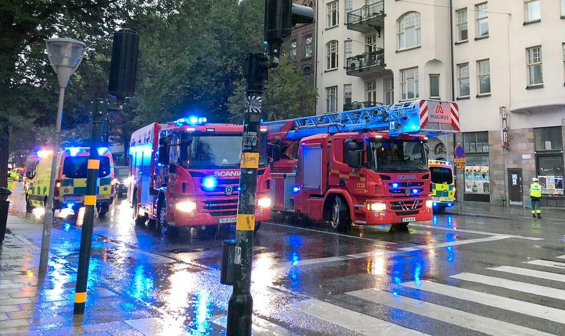 Branden på Sveavägen.