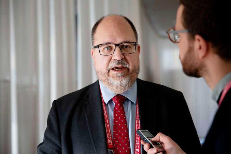 Karl-Petter Thorwaldsson.