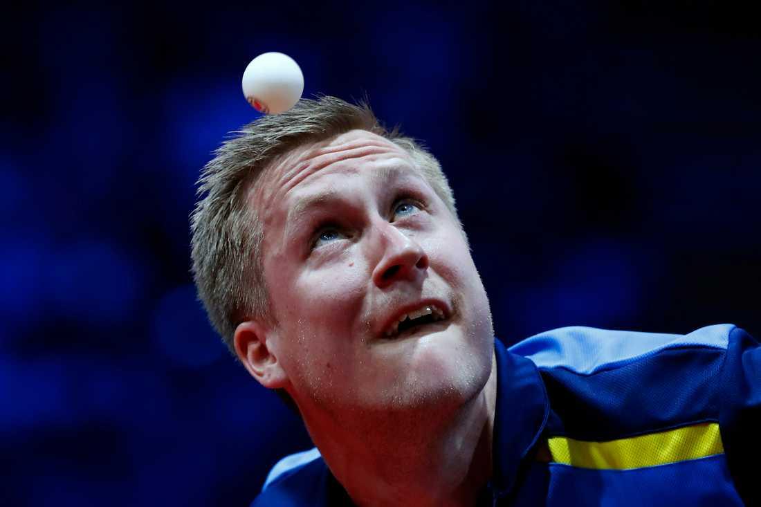 Mattias Falck är regerande VM-silvermedaljör i singel. Arkivbild.