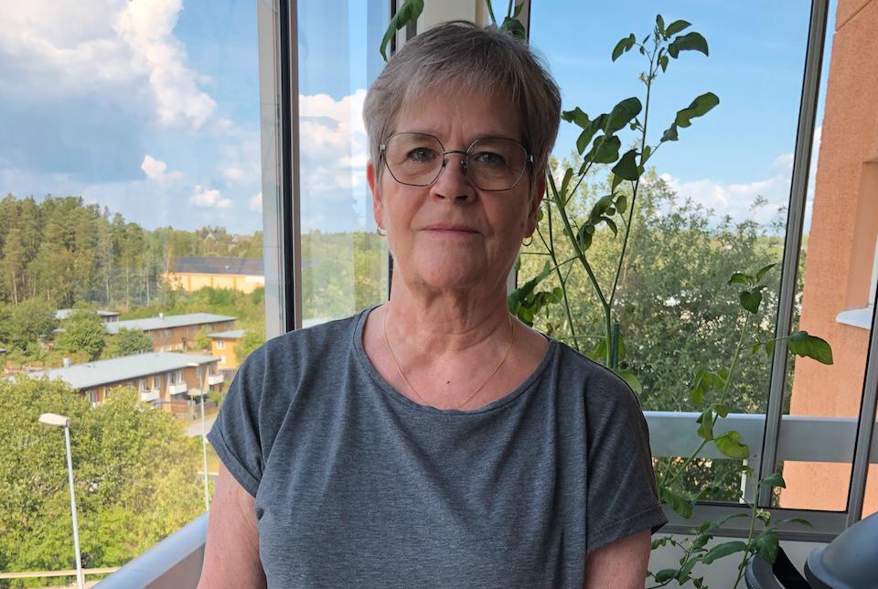 """""""Vad händer med mig nu?"""" undrar Christina Brännström, som har väntat på en livsnödvändig operation i ett halvår."""