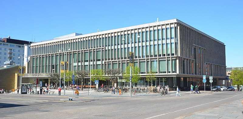 Stadsbiblioteket i Göteborg.