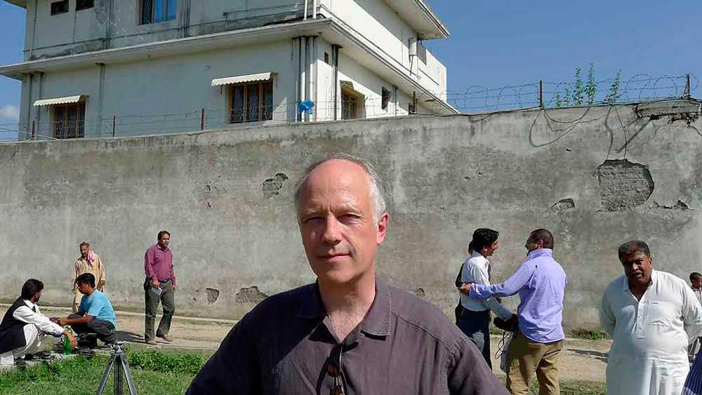 Nils Horner på plats i Abbottabad, Pakistan.