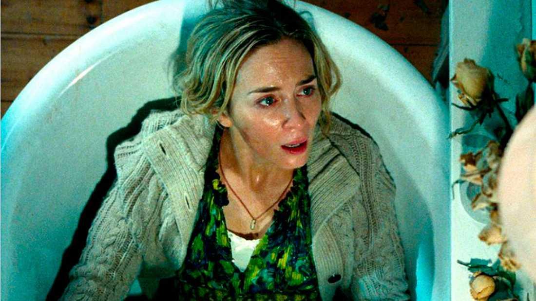 """Emily Blunt i filmen """"A quiet place"""""""