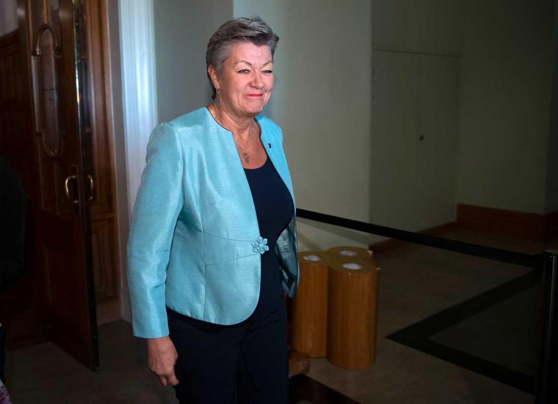 EU:s migrationskommissionär Ylva Johansson försöker ena EU-länderna om en gemensam asylpolitik.