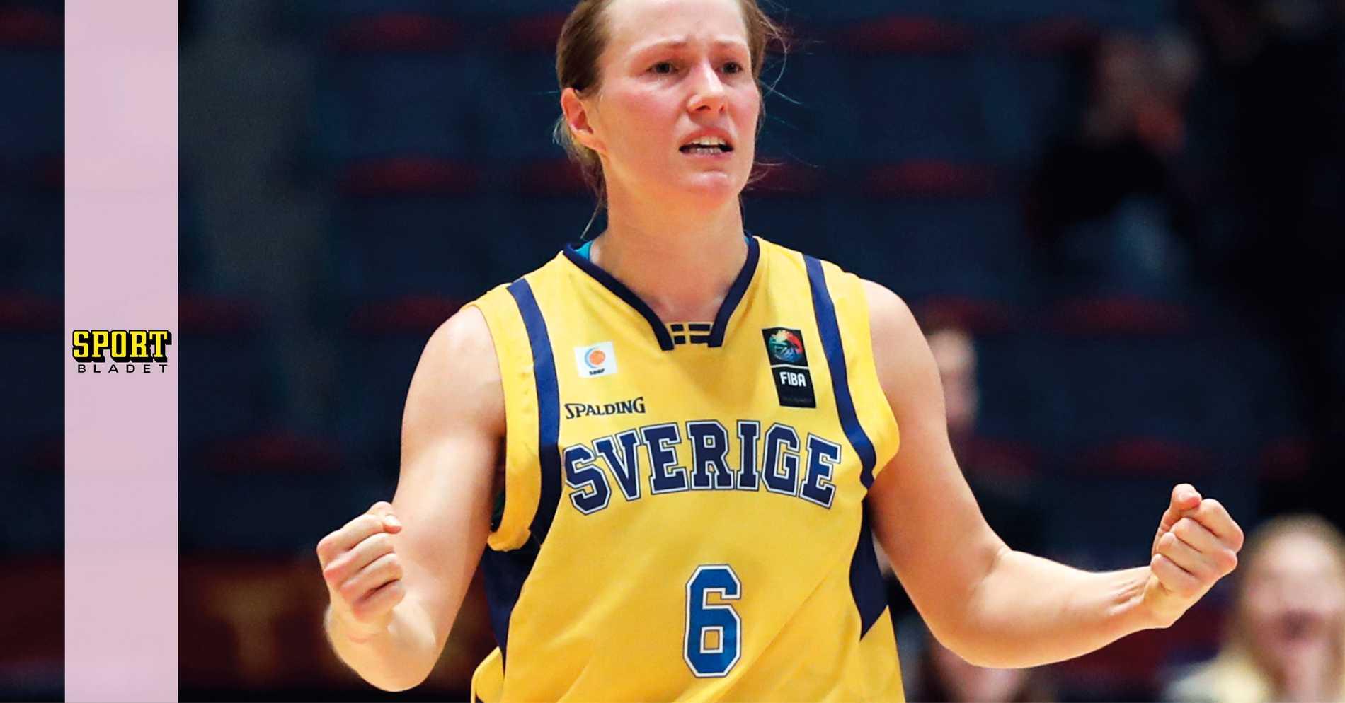Knäproblem stör Frida Eldebrink inför basket-EM