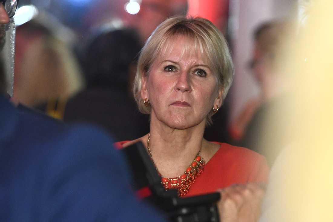 Utrikesminister Margot Wallström. Arkivbild.