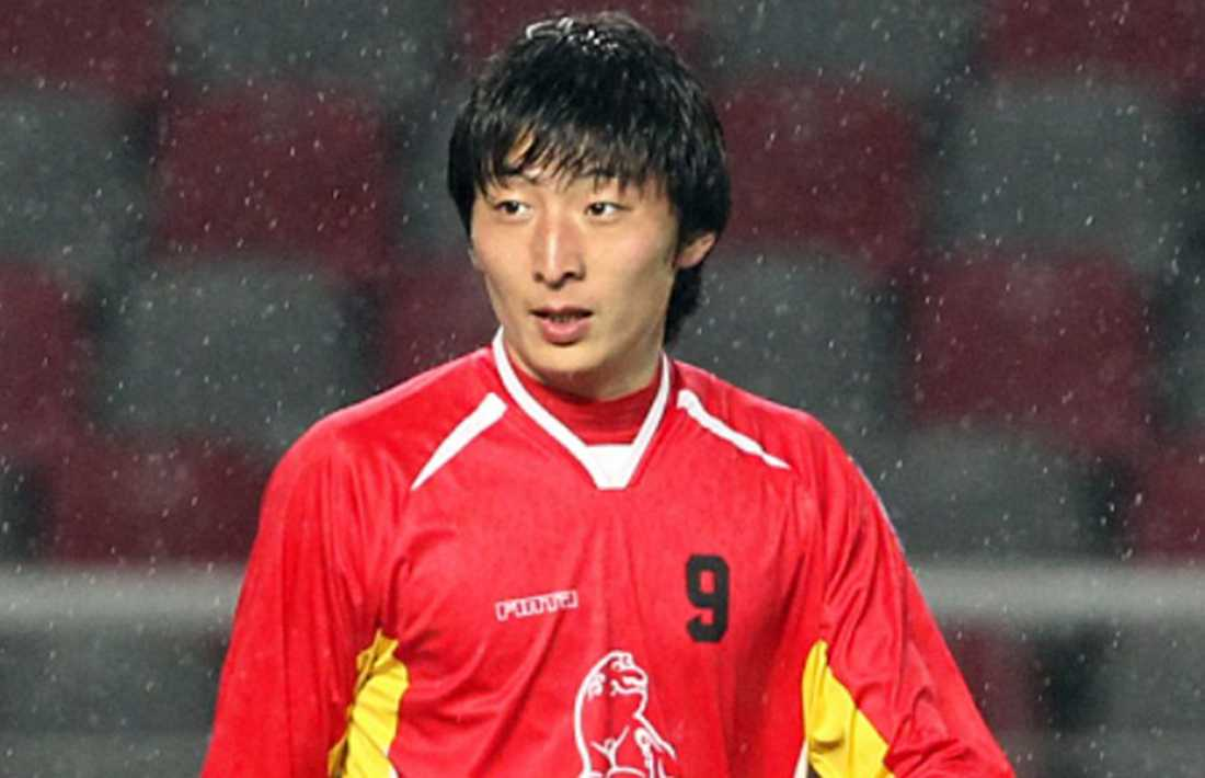 Park Eun-Seon, 26, gjorde totalsuccé med sina 19 mål på 22 matcher för Seoul City Amazones den här säsongen. Men nu skakas sydkoreansk damfotboll av en misstänkt könsskandal. Foto: Complex.