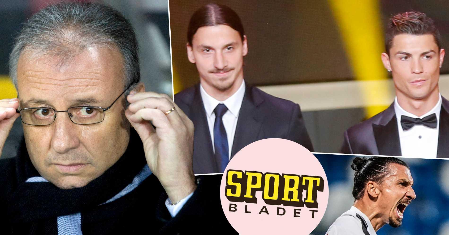 """Hyllningen: """"Zlatan har betytt mer än Ronaldo – förstår inte varför han aldrig vann Ballon d'Or"""""""