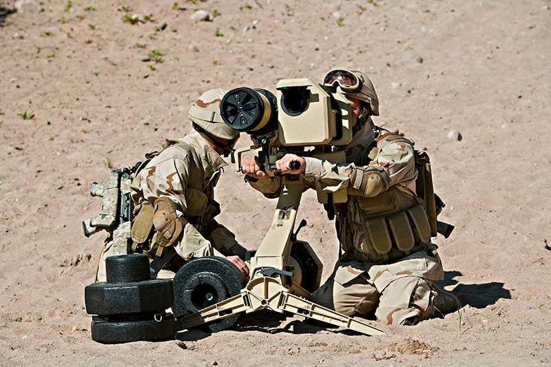Pansarvärnsroboten Bill 2.