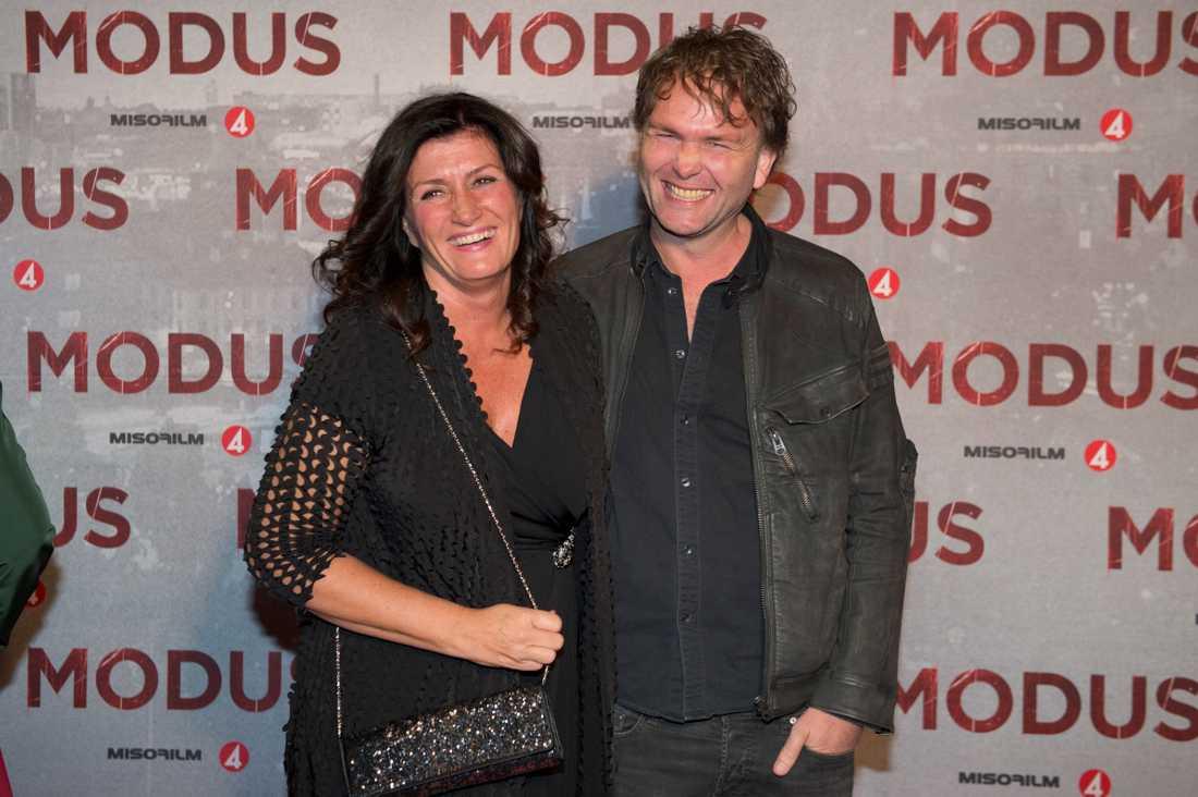 Mari Jungstedt och Ruben Eliassen var tidigare ett par.