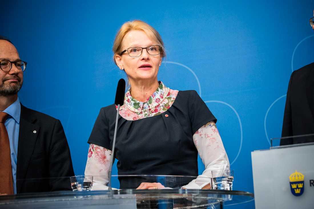 Migrationsminister Heléne Fritzon.