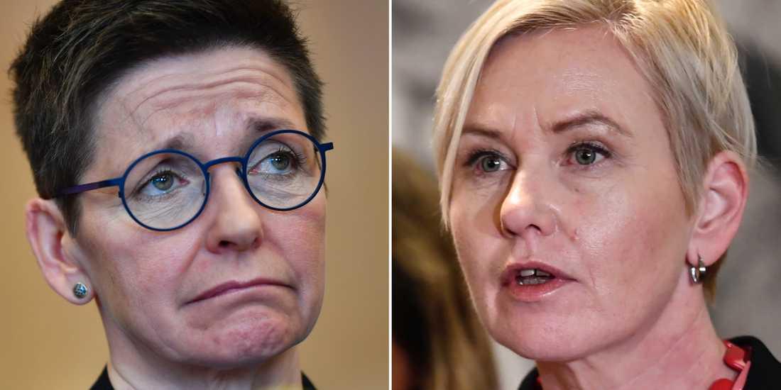 Ann-Sofie Hermansson/Anna Johansson.