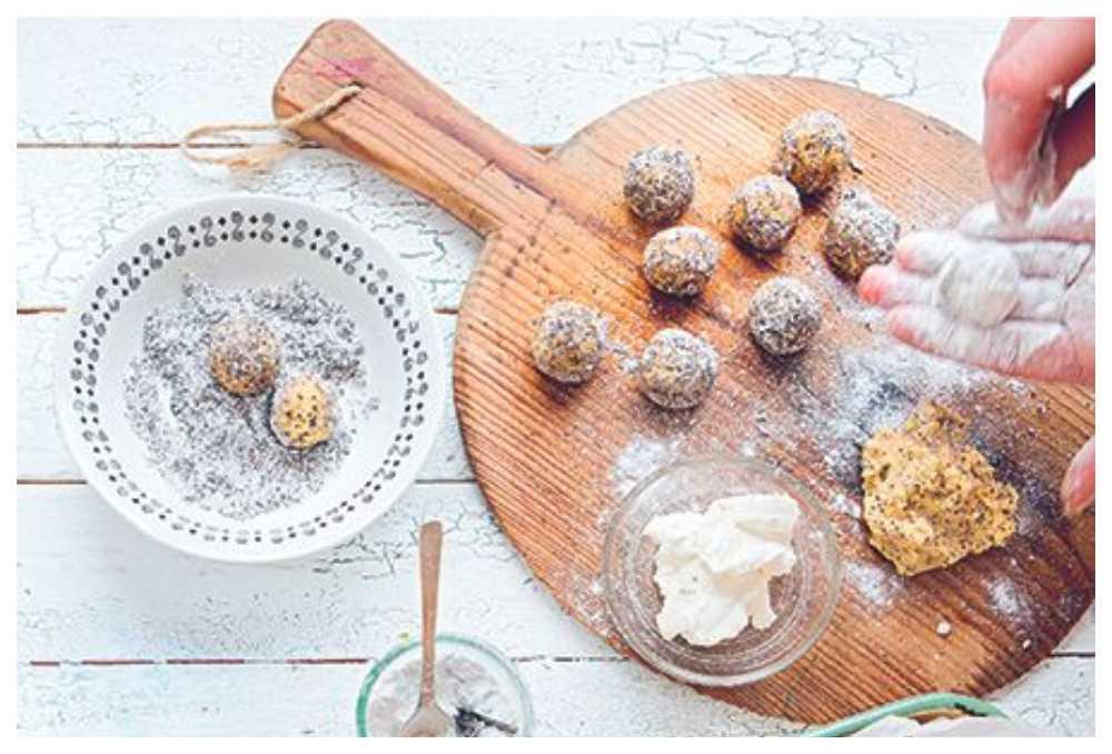 Kakbollar –bästa receptet som räddar torra kakor.