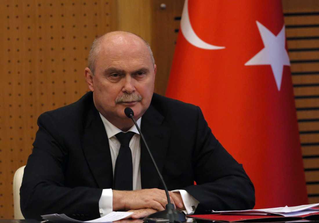 Turkiets FN-ambassadör Feridun Sinirlioglu. Arkivbild.