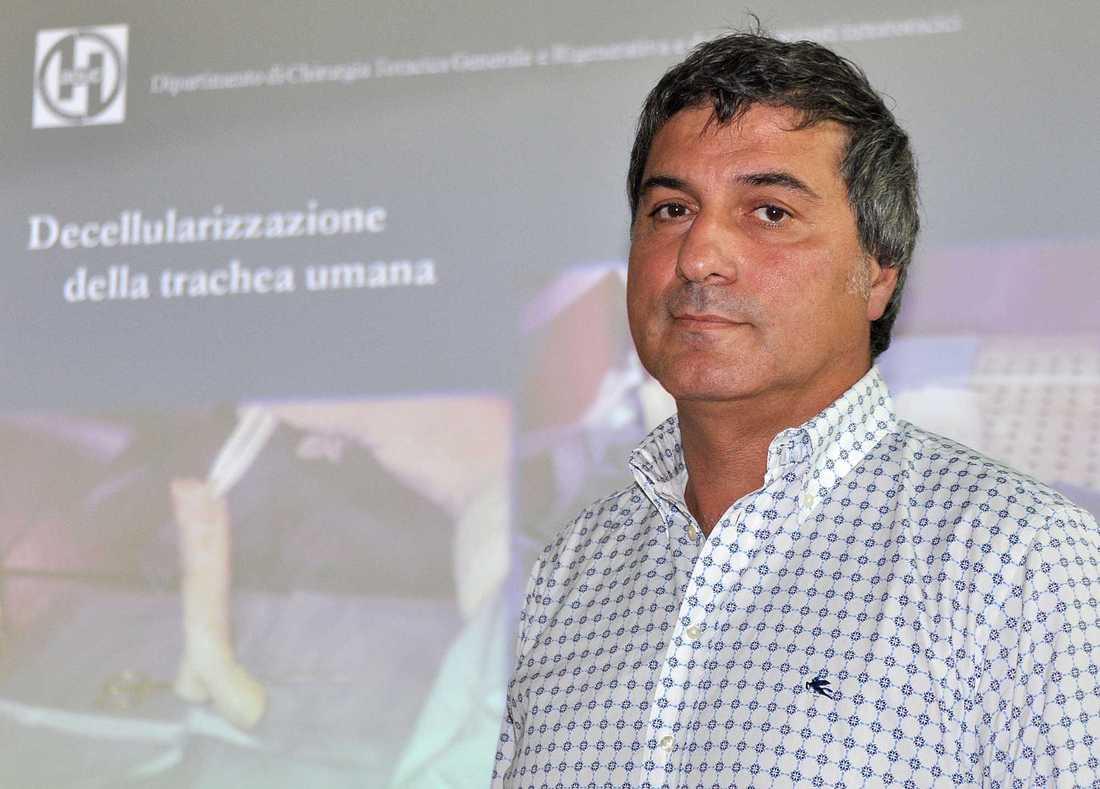 Kirurgen och forskaren Paolo Macchiarini.