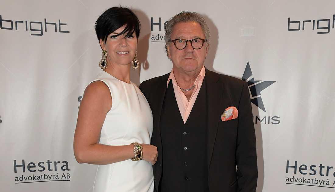 Tommy Körberg med frun Ann-Charlotte Nilsson.
