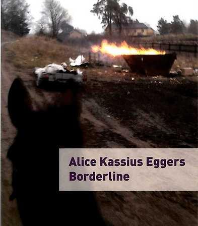 Diktsamlingen Borderline av Alice Kassius Eggers (bokomslag)