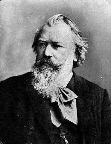 Johannes Brahms. Fortfarande oerhört populär.