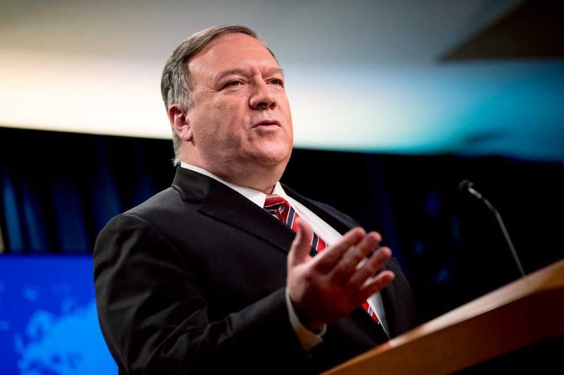 USA:s utrikesminister Mike Pompeo.