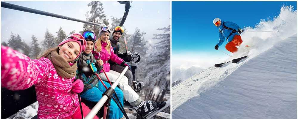 Allt fler européer söker sig till de norska skidorterna.