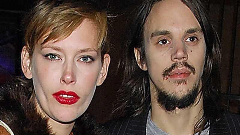 Andreas Kleerup och Sahara Widoff gifte sig 2011.