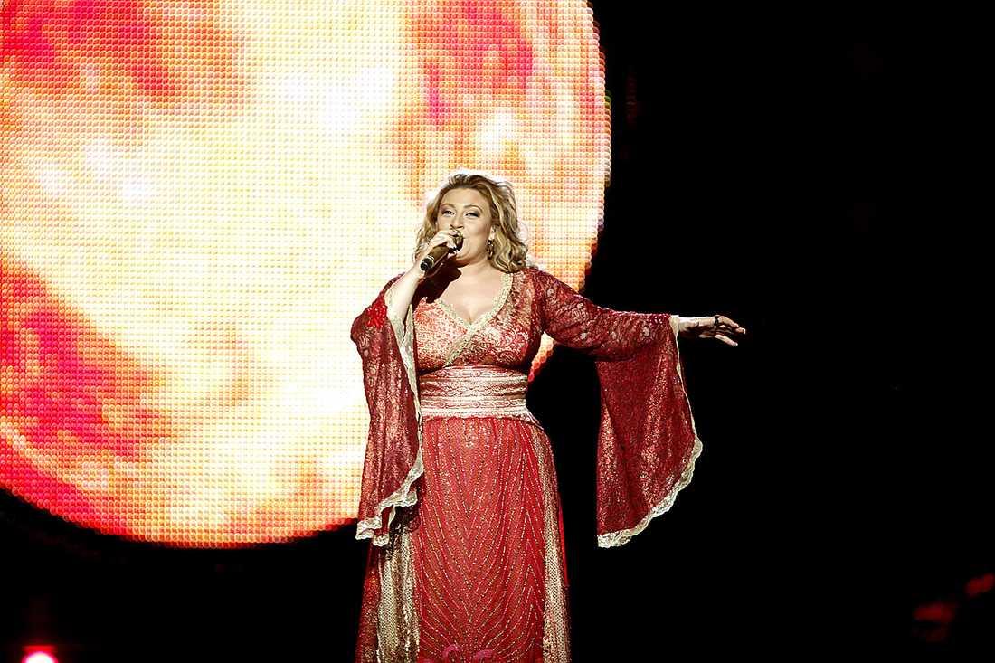 SCHLAGERRÄV Sarah Dawn Finer har tävlat två gånger i Melodifestivalen, 2007 och här 2009.