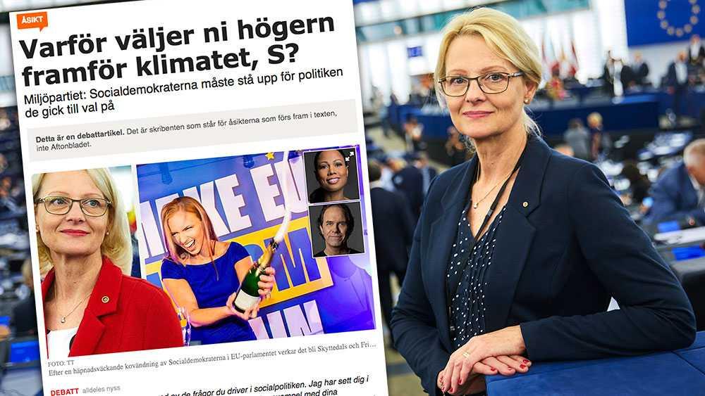 Vi svenska socialdemokrater tar vårt ansvar genom att, i det läge vi nu har, ställa krav på Ursula von der Leyen. Krav som handlar om klimatet, om sysselsättningen, om demokratin och om jämställdheten, skriver Europaparlamentarikern Heléne Fritzon (S).