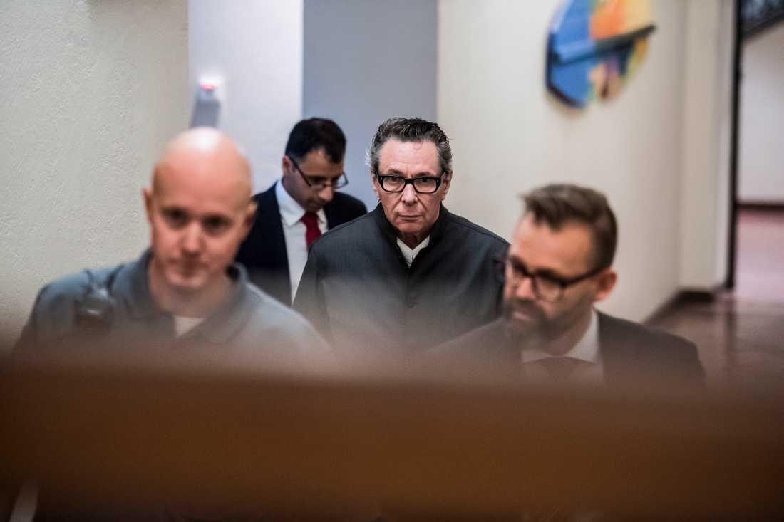 Jean-Claude Arnault i tingsrätten förra veckan.