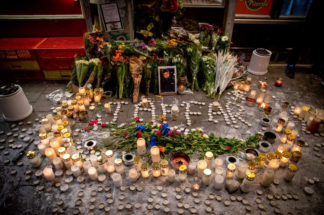 Jaffar, 15, sköts ihjäl på Möllevångstorget.