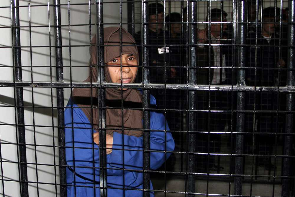 Sajida al-Rishawi dömdes till döden av jordansk domstol 2006 för inblandning i ett trippelbombdåd i Amman som dödade 60 personer.