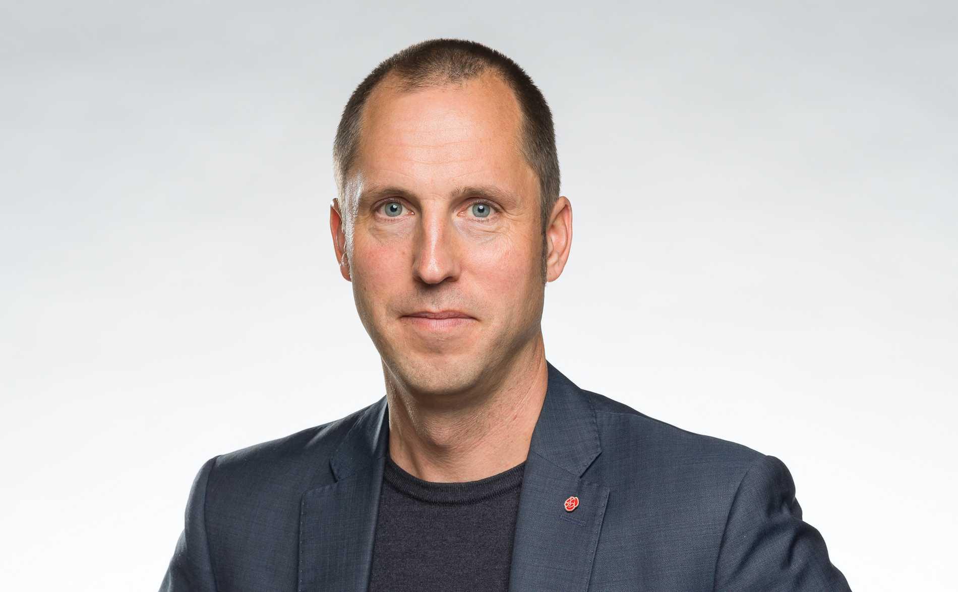 Erik Pelling (S), kommunstyrelsens ordförande och ordförande i krisledningsgruppen.